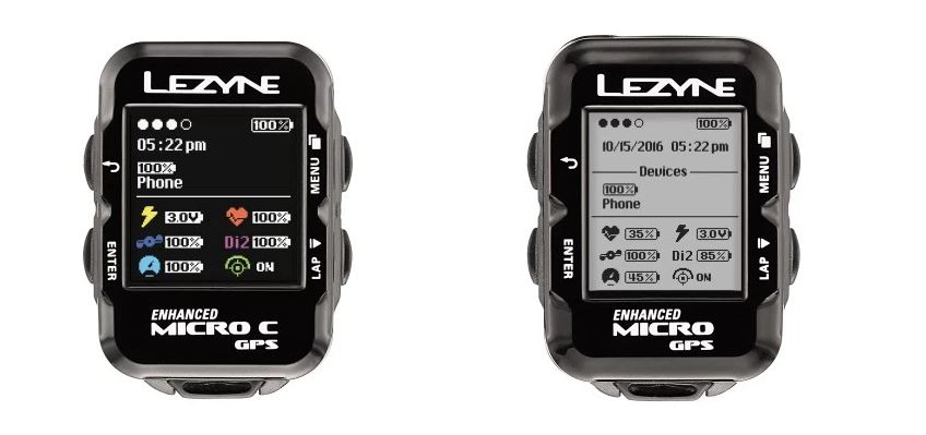 Lezyne color GPS