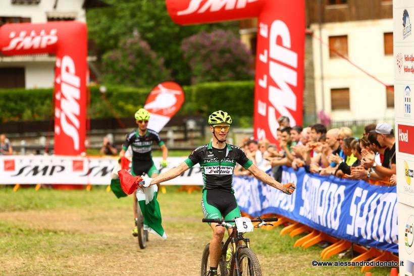 Daniele Braidot vince il campionato italiano xco elite a Courmayeur