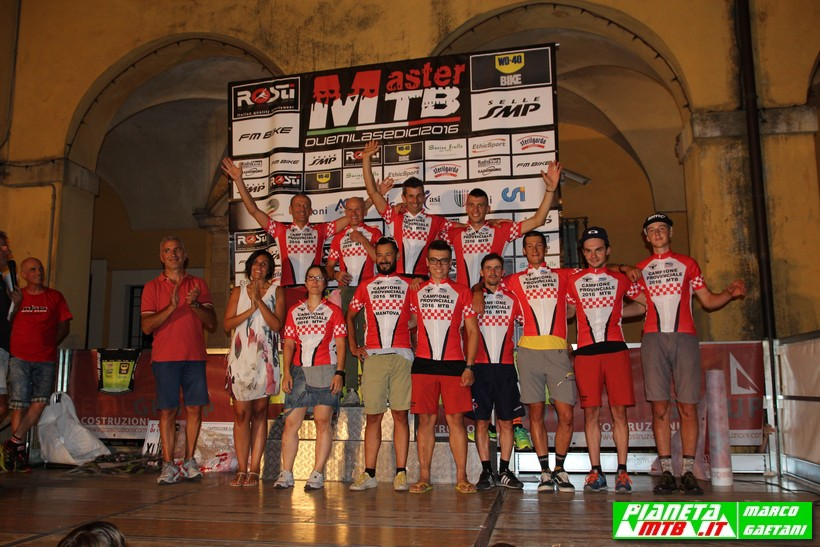 Campioni provinciali mountain bike XC Mantova 2016 FCI