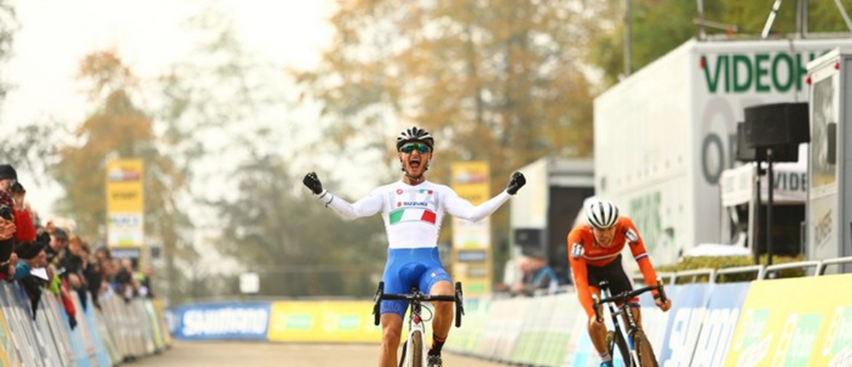 Coppa del Mondo di ciclocross: A Valkenburg Gioele Bertolini concede il bis