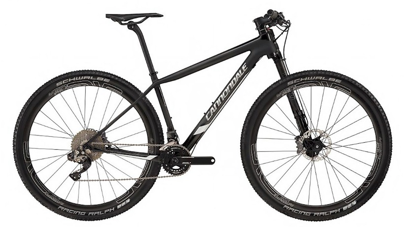 Cannondale F-Si Carbon Black Inc 2017