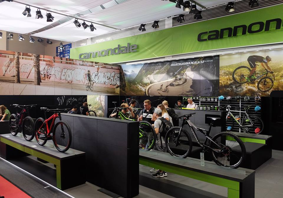 Cannondale Stand a Eurobike
