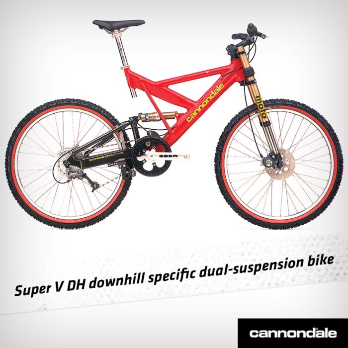 Cannondale Super V DH - 1996