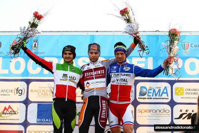 Ciclocross internazionale del Ponte - Podio maschile