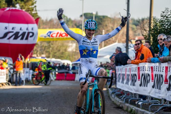 Gorizia ciclocross Chiara Teocchi