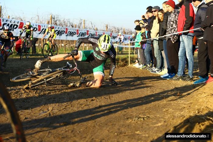 Luca Braidot ciclocross internazionale del Ponte