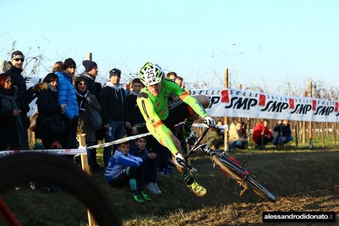 Martino Fruet ciclocross internazionale del Ponte