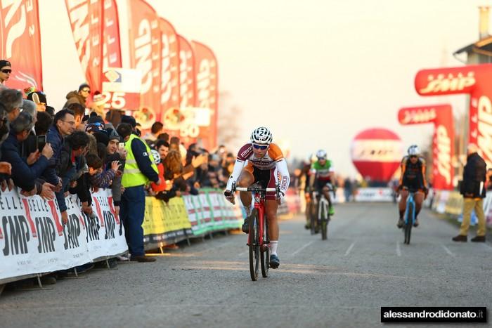 Ciclocross internazionale del Ponte - Meidel vince