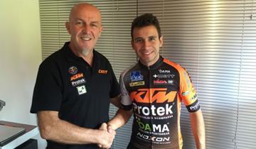 Torrevilla rinnova l'accordo sia con KTM che con Jhonatan Botero Villegas
