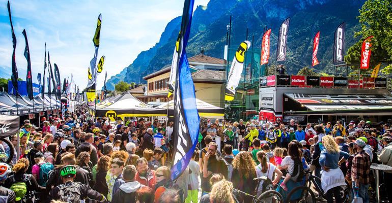 Il Bike Festival di Riva del Garda apre sabato e dura fino a martedì