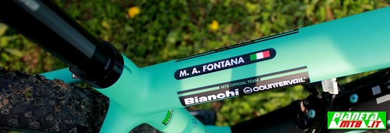 Bianchi Methanol CV Marco Aurelio Fontana