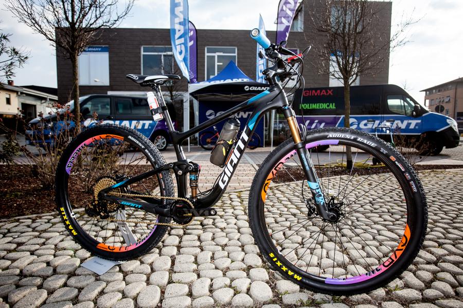 Il Bike Check Della Giant Anthem Advanced 29 Pro Di Leonardo Paez