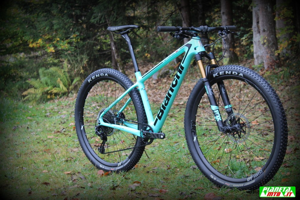 Bianchi Methanol CV RS in test