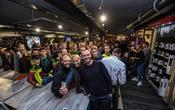 Inaugurato il Trek Concept Store Cycle'n'Cycle di Roma, c'erano la Pezzo e Contador