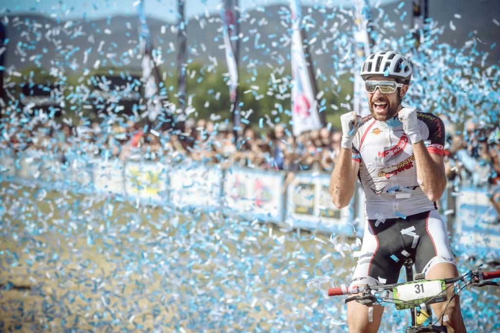 Lo svizzero Nicola Rohrbach, vincitore della Roc d'Azur 2017