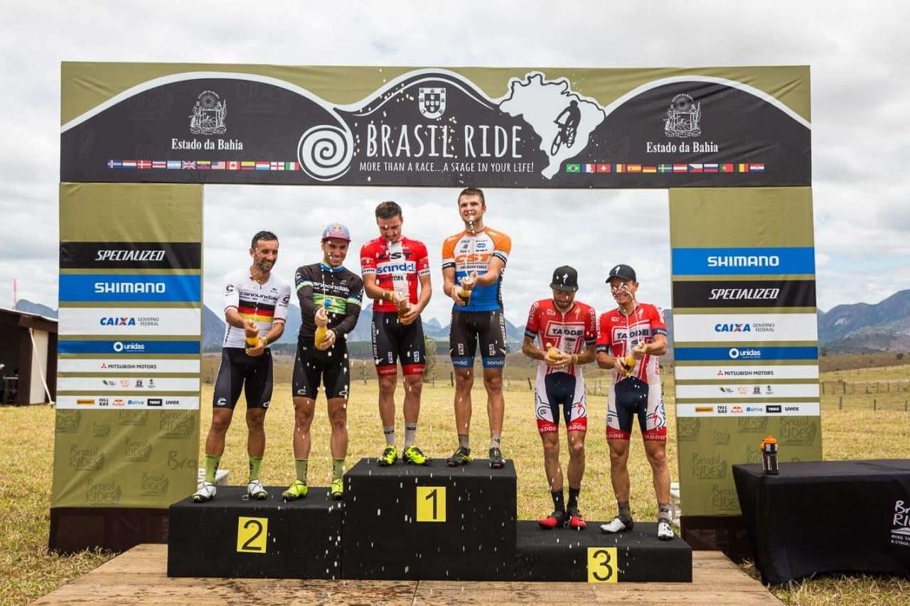 Brasil Ride podio terza tappa