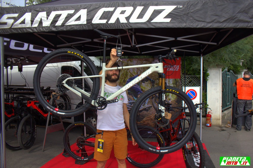 Santa Cruz Highball XX1 2019 peso