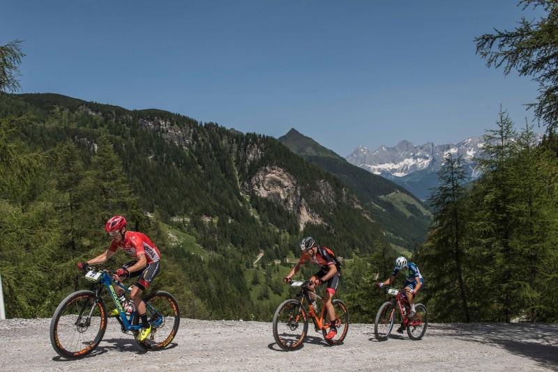 Luca Ronchi all'Alpen Tour Trophy