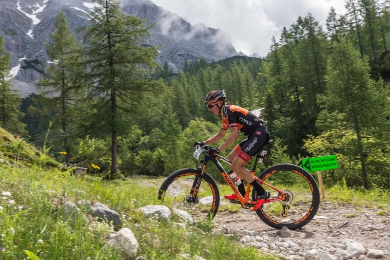 Tony Longo all'Alpen Tour Trophy