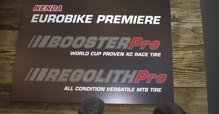 Kenda a Eurobike svela le novità 2019, Booster e Regolith