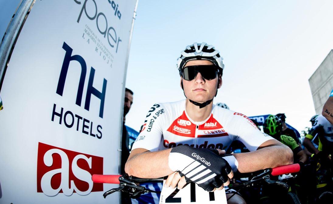 Mathieu Van der Poel in mountain bike