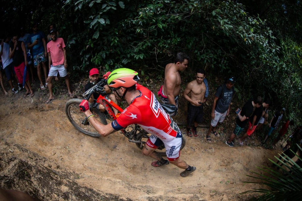 Francesco Failli al Brasil Ride