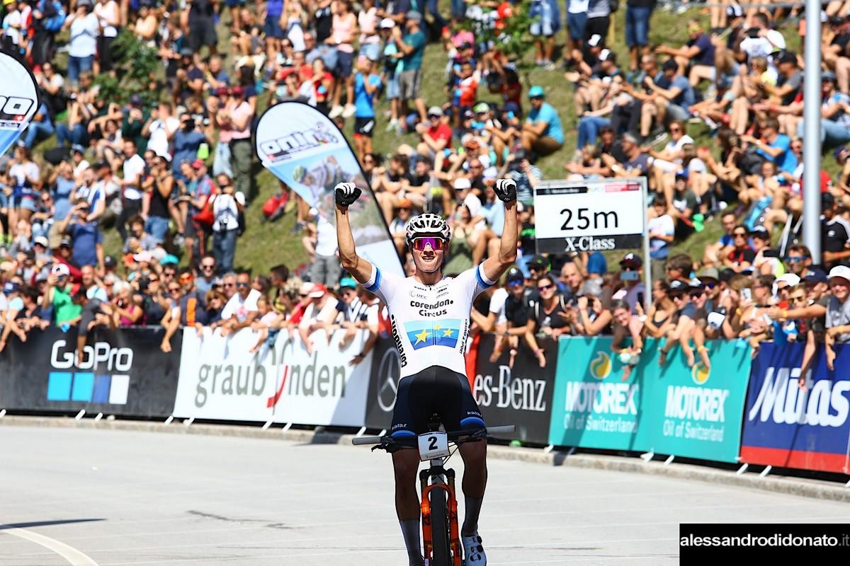 Mathieu Van der Poel vince a Lenzerheide