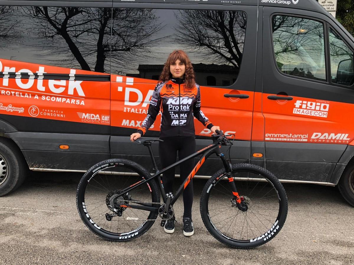 Marika Tovo KTM Protek Dama