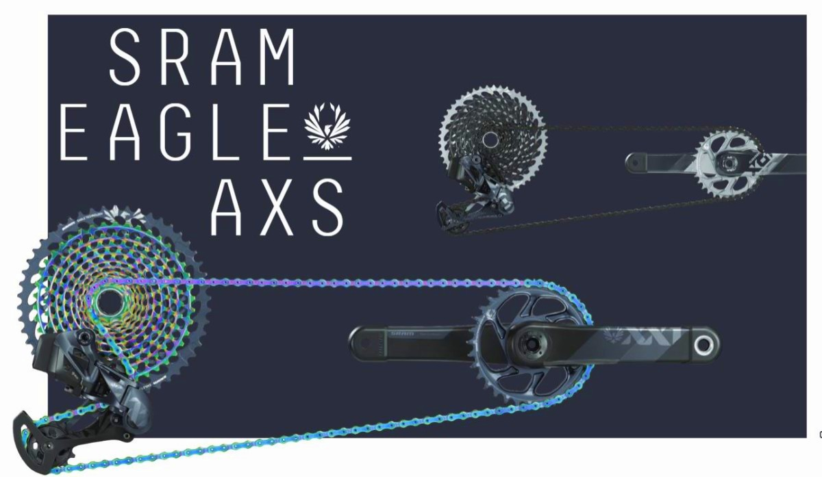 SRAM XX1 EAGLE AXS cambio wireless