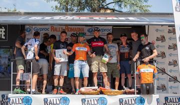 Il Racing Rosola a podio nel Rally di Romagna grazie a Andrea Giacomini