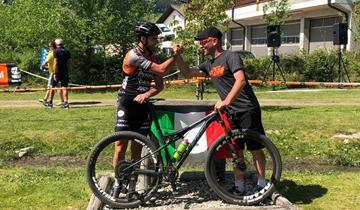 KTM PROTEK DAMA - MIRKO TABACCHI CAMPIONE ITALIANO XC ELIMINATOR