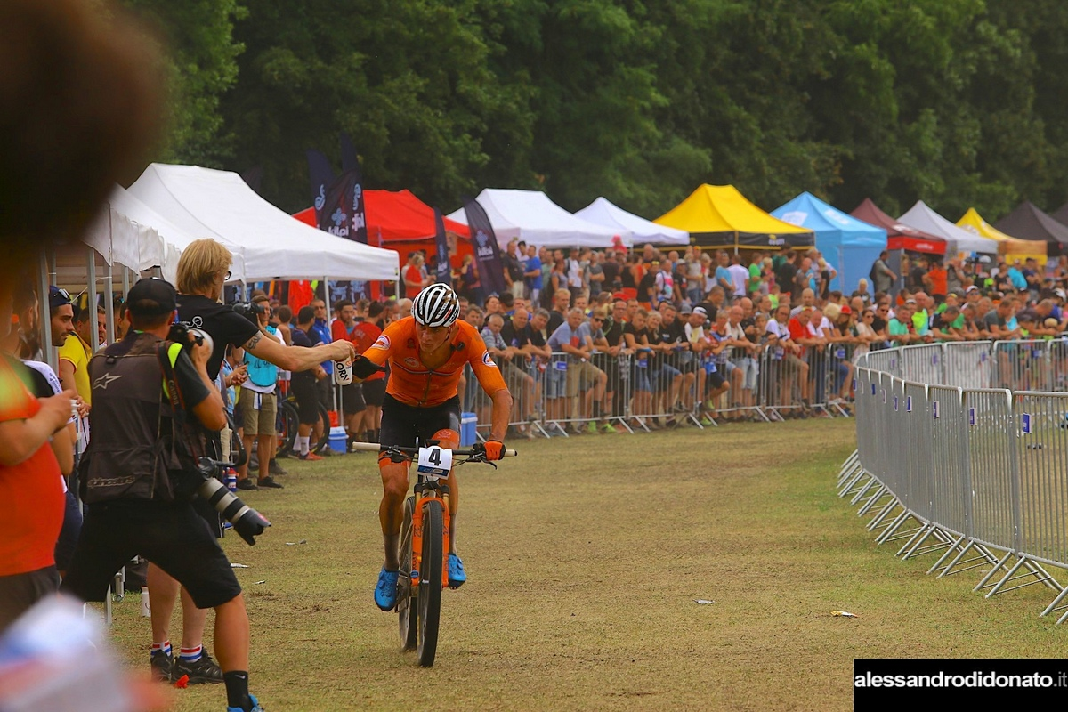 Mathieu Van der Poel a Brno - Europeo mountain bike