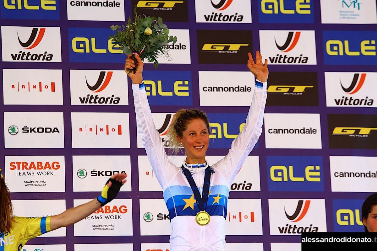 Jolanda Neff a Brno
