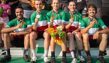 KTM PROTEK DAMA SI CONFERMA  CAMPIONE ITALIANO TEAM RELAY