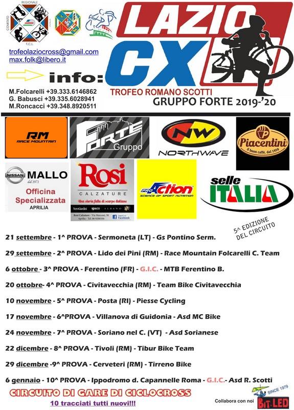 Calendario Lazio.Ufficiale Il Calendario Del Lazio Ciclocross Pianeta