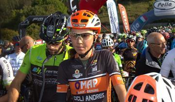 Omap Cicli Andreis, la Burato terza alla Tremalzo Bike