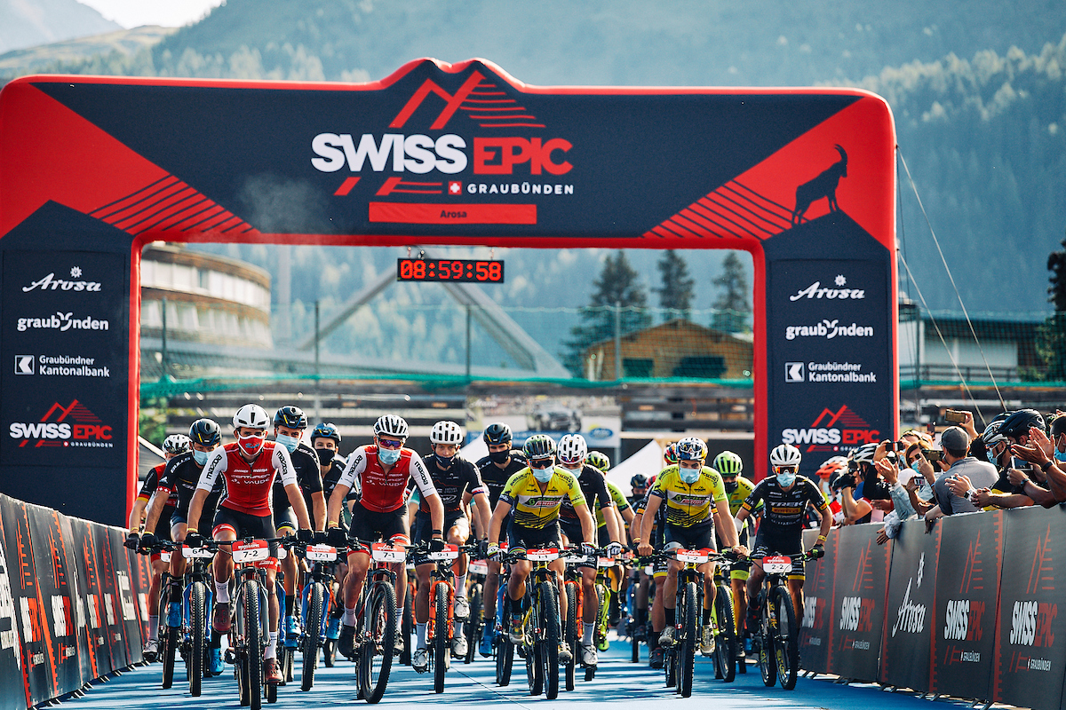 Swiss Epic - Arosa, partenza