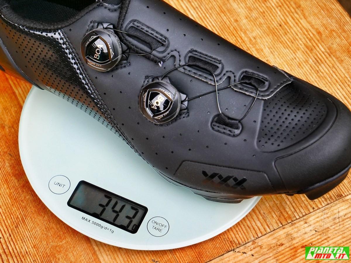Peso scarpe Bontrager XXX MTB