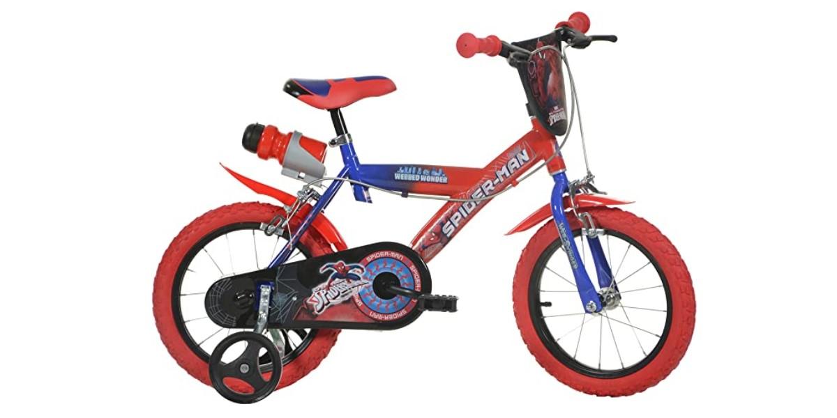 Dino Bikes Spiderman - bici bambino