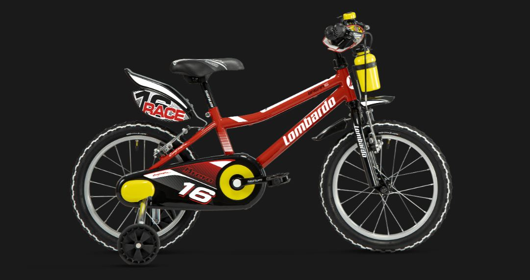 Lombardo Brera 16 bici bambino