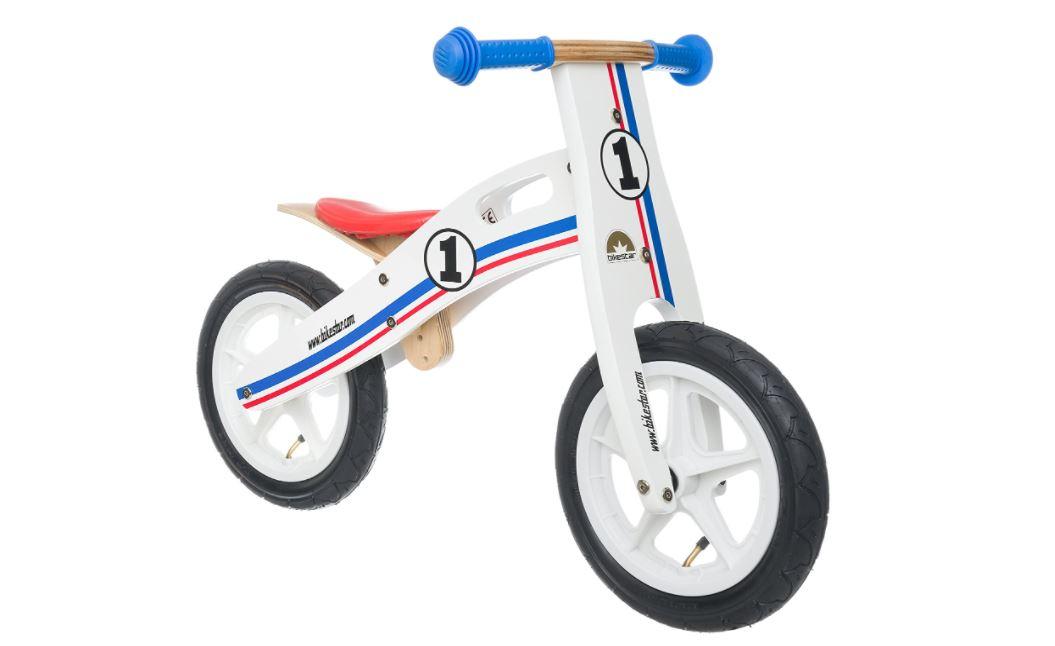 Bikestar bicicletta in legno senza pedali per bambini