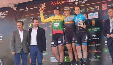 Team Torpado Sudtirol, la Sosna a podio in Andalucia