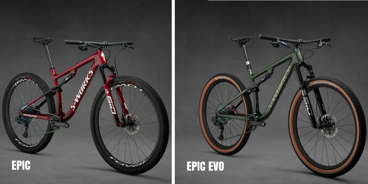 Confronto EPIC - EPIC EVO 2021