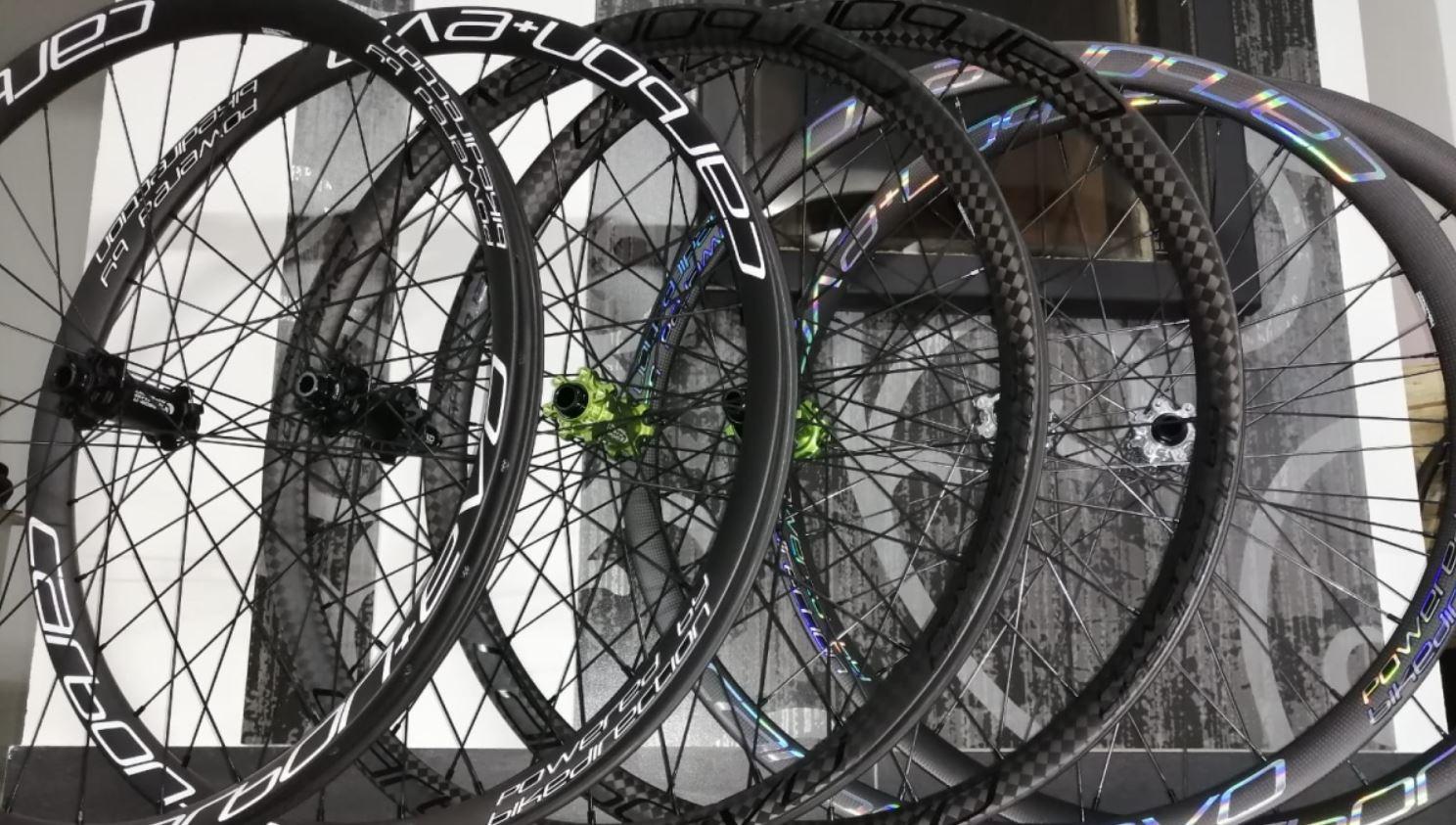 Carbon + Evo ruote