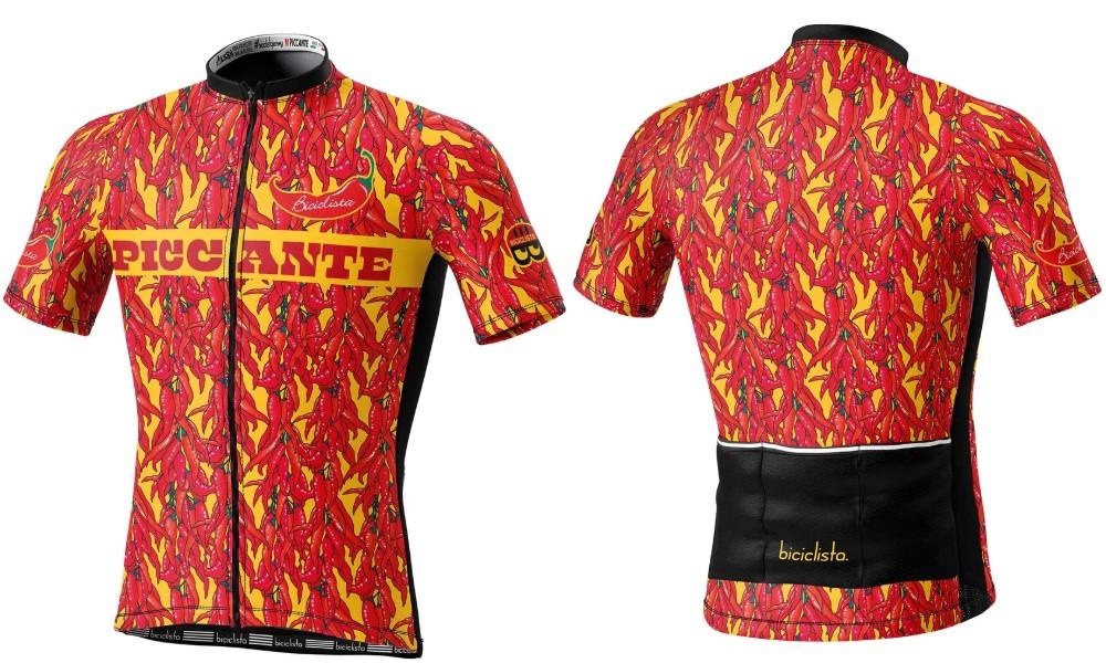 Biciclista maglia ciclismo Piccante