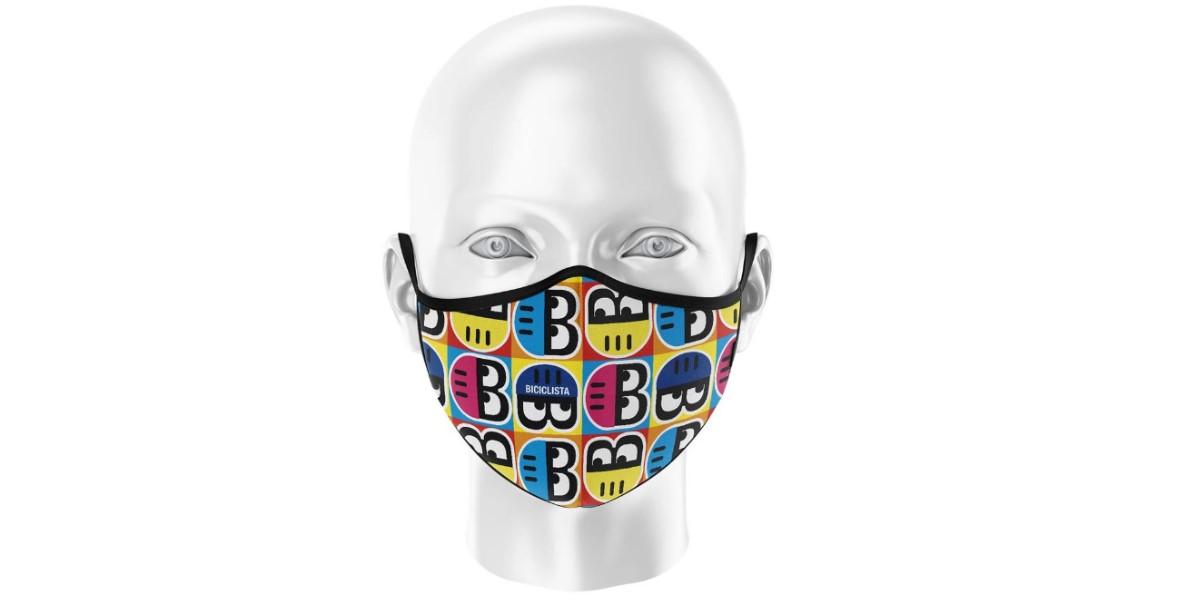 Maschera Biciclista Helmetto Pop
