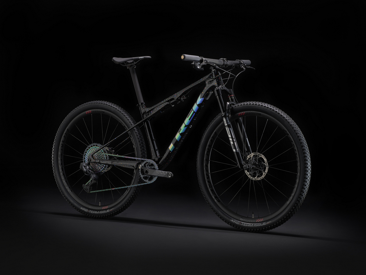 Holographic Diamond Flake colorazione Project One della Trek Supercaliber