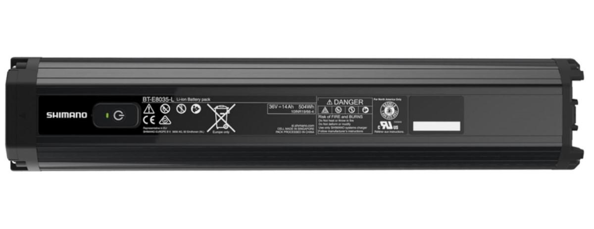 Shimano batteria BT-E8035L 504 Wh