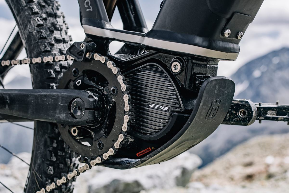 Shimano EP8 su Husqvarna Mountain Cross 7