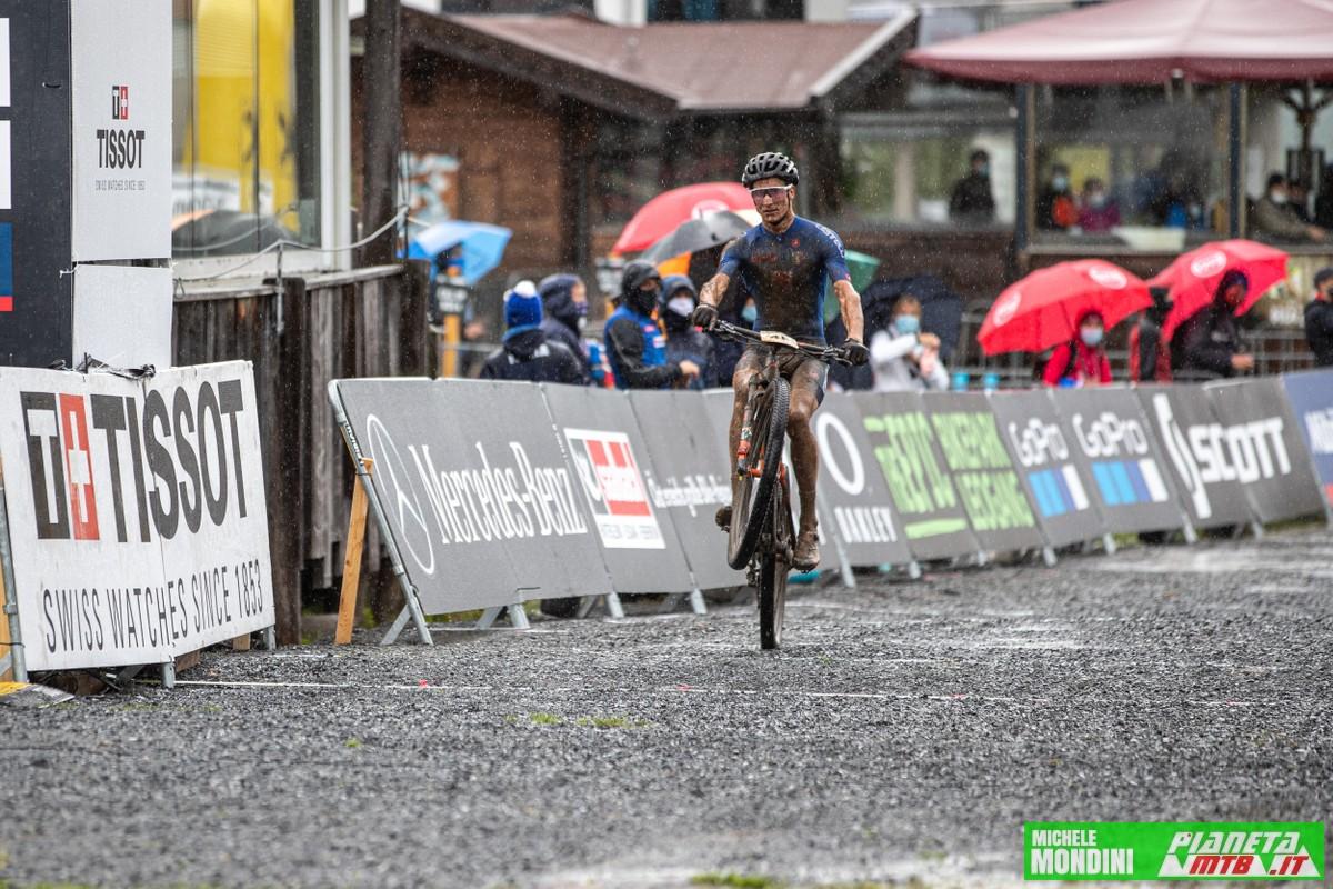 Juri Zanotti al mondiale di team Relay - Leogang